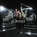 iQuad KTAI awards