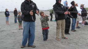 2011 WSIKF - Start 'em young... (photo by Bart Busse)