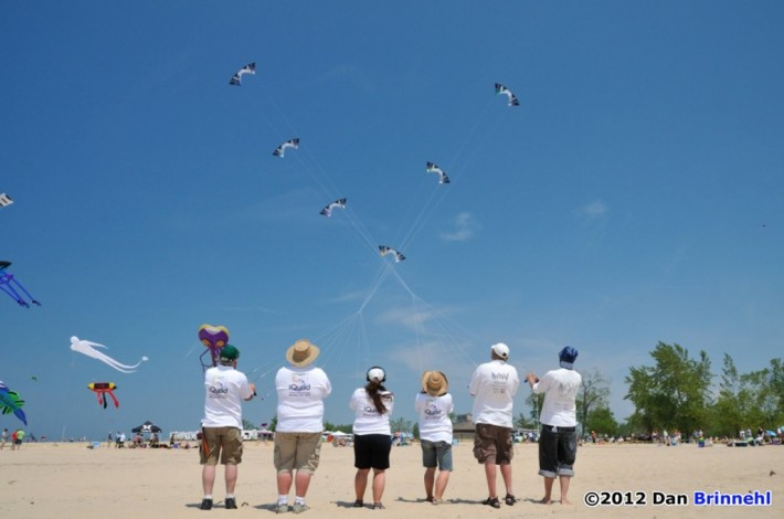 2012 GLKF - iQuad lineup (photo by Dan Brinnehl)
