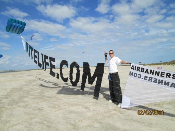 2013 SPI - KiteLife airbanner